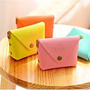 preiswerte Bürobedarf-Macarons Farbe PU-Leder Portemonnaie