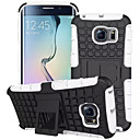 cheap Galaxy A Series Cases / Covers-SHI CHENG DA Case For Samsung Galaxy Samsung Galaxy Case Shockproof / with Stand Back Cover Armor PC for S7 edge / S7 / S6 edge