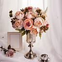 tanie Dekoracja biura-Sztuczne Kwiaty 1 Gałąź Fason europejski Piwonie Bukiety na stół