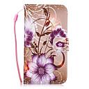 Недорогие Коврики для мыши-Кейс для Назначение SSamsung Galaxy S8 Plus S8 Бумажник для карт Кошелек со стендом Кейс на заднюю панель Цветы Твердый Кожа PU для S8