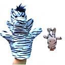 hesapli Kuklalar-Parmak Kuklalar At / Zebra Hayvanlar / Yenilikçi Peluş Genç Erkek / Genç Kız Hediye