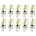 hesapli Takı Setleri-10pcs 3W 280-300lm G4 Dekoratif Işıklar T 64 LED Boncuklar SMD 3014 Kısılabilir Sıcak Beyaz / Serin Beyaz 220V / 85-265V