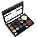 cheap Makeup & Nail Care-12 Colors Eyeshadow Palette / Powders / Blush Eye / Face Waterproof Shimmer glitter gloss Coloured gloss Daily Makeup Cosmetic