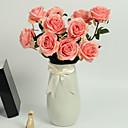 tanie Sztuczne kwiaty-Sztuczne Kwiaty 1 Gałąź Styl nowoczesny Roses Bukiety na stół