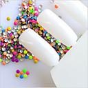 hesapli Makyaj ve Tırnak Bakımı-1000 pcs Nail Jewelry pırıltılar / Klasik Günlük Tırnak Tasarımı Tasarımı