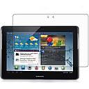 preiswerte Bildschirm-Schutzfolien für's Tablet-Displayschutzfolie Samsung Galaxy für Tab 2 10.1 PET 1 Stück Vorderer Bildschirmschutz Ultra dünn High Definition (HD)