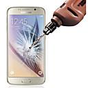 hesapli Samsung İçin Ekran Koruyucuları-Ekran Koruyucu Samsung Galaxy için S6 Temperli Cam Ön Ekran Koruyucu Parmak İzi Yapmayan