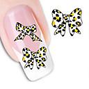cheap Makeup & Nail Care-1 pcs Water Transfer Sticker nail art Manicure Pedicure Fashion Daily