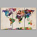 povoljno Narukvice-Print Rolled Canvas Prints - Pejzaž Moderna Tri plohe