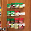 cheap Kitchen Storage-Kitchen Bottle Spice Organizer Rack Cabinet Door Spice Clips 20-Clip Set
