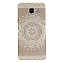 cheap Galaxy A Series Cases / Covers-Case For Samsung Galaxy A5(2016) / A3(2016) IMD / Transparent / Pattern Back Cover Mandala Soft TPU for A5(2016) / A3(2016) / A5