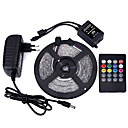 cheap Capacitors-Light Sets 300 LEDs RGB Remote Control / RC Cuttable Dimmable Waterproof Color-Changing Self-adhesive Suitable for Vehicles Linkable