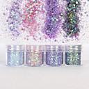 ieftine Machiaj & Îngrijire Unghii-10ml Glitter & Poudre / Paiete / Pudră Glitters / Clasic Zilnic