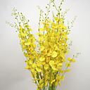 billige Øreringe-Kunstige blomster 10 Afdeling pastorale stil Orkideer Bordblomst