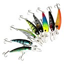 cheap Baking Tools & Gadgets-8 pcs Hard Bait / Minnow / Fishing Lures Hard Bait / Minnow Hard Plastic Sea Fishing / Bait Casting / Spinning / Jigging Fishing / Freshwater Fishing / Bass Fishing / Lure Fishing / General Fishing