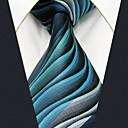 ieftine Becuri LED Glob-Bărbați Geometric / Bloc Culoare / Jacquard De Bază Petrecere / Birou Cravată