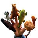 cheap Puppets-Teacher Ttudent Do A Family  Dolls Professional DollsBig Hands Dolls Finger  Love Dolls Finger Puppet Model & Building Toy Toys Novelty Textile Cotton