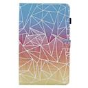 tanie Etui do iPhone-Kılıf Na Apple iPad 4/3/2 iPad Air 2 iPad Air Etui na karty Z podpórką Flip Pełne etui Geometryczny wzór Twarde Skóra PU na iPad 4/3/2