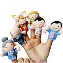 cheap Puppets-Finger Puppets Novelty Textile Cotton Toy Gift 6 pcs