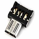 hesapli USB Kabloları-usb disk / telefon / tablet vb ile uyumlu mikro usb erkek OTG adaptör dm usb