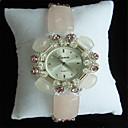 ieftine Ceasuri Damă-Pentru femei Ceas La Modă Quartz Ceramică Alb / Verde Analog Charm - Galben Verde militar Roz