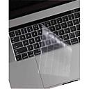 hesapli Mac Stickerlar-xskn® 2016 için ultra ince ve transpar tpu klavye deri ve touchbar koruyucusu yeni macbook bize düzeni retina dokunmatik çubuğu ile 13.3 /