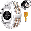 abordables Bracelets Apple Watch-Bracelet de Montre  pour Apple Watch Series 4/3/2/1 Apple papillon Boucle Acier Inoxydable Sangle de Poignet