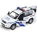 voordelige Gegoten & Speelgoedvoertuigen-Speelgoedauto's Terugtrekvoertuigen Politieauto Eend Automatisch Simulatie Unisex Jongens Meisjes Speeltjes Geschenk