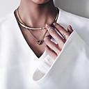 ieftine Coliere-Pentru femei Coliere Choker / Pandative - Γεωμετρικά, Stil Atârnat, Modă Auriu Coliere Pentru Petrecere, Ocazie specială, Afaceri