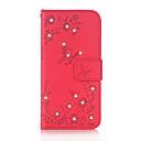 Χαμηλού Κόστους Θήκες / Καλύμματα Galaxy J Series-tok Για Samsung Galaxy J5 (2016) J3 (2016) Θήκη καρτών Πορτοφόλι Στρας με βάση στήριξης Ανοιγόμενη Μαγνητική Με σχέδια Ανάγλυφη Πλήρης