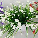 ieftine Machiaj Halloween-1bunch artificial mini crin mătase floare simulare calla flori buchet falsă iarbă plante acvatice pentru noul decor de cameră acasă lavabil