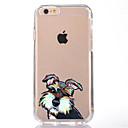 ieftine Carcase iPhone-Maska Pentru Apple iPhone 7 Plus iPhone 7 Transparent Model Capac Spate Câțel Moale TPU pentru iPhone 7 Plus iPhone 7 iPhone 6s Plus