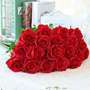 preiswerte Künstliche Blumen-Künstliche Blumen 10 Ast Europäischer Stil Rosen Tisch-Blumen