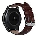 baratos Acessórios para Relógios-Pulseiras de Relógio para Gear S3 Frontier Gear S3 Classic Samsung Galaxy Fecho Clássico Couro Tira de Pulso
