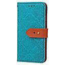 זול Cellphone & Device Holders-מגן עבור Samsung Galaxy S7 edge / S7 ארנק / מחזיק כרטיסים / עם מעמד כיסוי מלא אריח קשיח עור PU ל S7 edge / S7 / S6 edge