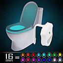 preiswerte Ausgefallene LED-Lichter-ywxlight® ip65 16 farben bewegung aktiviert toilette licht bad nachtlicht einfach sauber