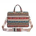 """preiswerte Laptop Taschen-Segeltuch Bohemian Stil Blume Handtaschen Umhängetasche 15 """"Laptop"""