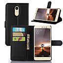 cheap Universal Cases & Bags-Case For Xiaomi Xiaomi Redmi 2 Card Holder Wallet Shockproof with Stand Full Body Cases Solid Color Hard PU Leather for Xiaomi Redmi Note