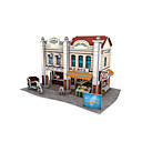 cheap 3D Puzzles-3D Puzzle Model Building Kit Chinese Architecture Paper 1 pcs Kid's Toy Gift