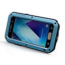 voordelige LED-kaarslampen-hoesje Voor Samsung Galaxy A5(2017) / A3(2017) Schokbestendig / Waterbestendig Volledig hoesje Effen Hard Metaal voor A3 (2017) / A5 (2017)