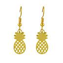 preiswerte Halsketten-Damen Tropfen-Ohrringe - Grundlegend Gold / Silber Für Geburtstag