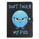 olcso Galaxy S tokok-Case Kompatibilitás Apple iPad Mini 4 iPad Mini 3/2/1 iPad 4/3/2 iPad Air 2 iPad Air Kártyatartó Ütésálló Állvánnyal Flip Héjtok 3D
