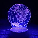 hesapli Yenilikçi LED Işıklar-AWOO 1pc 3D Gece Görüşü Dekorotif