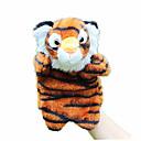 preiswerte Marionetten und Handpuppen-Fingerpuppen Marionetten Handpuppe Rabbit Tiger Niedlich Tiere lieblich Plüsch Kinder Mädchen Spielzeuge Geschenk