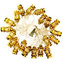 hesapli Yüzükler-KWB 5m Dizili Işıklar 20 LED'ler Çok Renkli Kısılabilir 220 V / 110-130 V