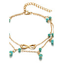 Buy Women's Anklet/Bracelet Alloy Fashion Bohemian Costume Jewelry Infinity Daily Casual