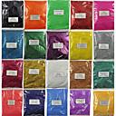 hesapli Makyaj ve Tırnak Bakımı-Payetler / Pudra Klasik Tırnak Tasarımı Tasarımı Günlük