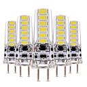 ieftine Proiectoare LED-YWXLIGHT® 5pcs 4 W Becuri LED Bi-pin 300-400 lm T 12 LED-uri de margele SMD 5730 Intensitate Luminoasă Reglabilă Decorativ Alb Cald Alb Rece 12-24 V 12 V / 5 bc