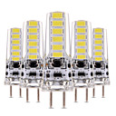 halpa LED Bi-Pin lamput-YWXLIGHT® 5pcs 4 W LED Bi-Pin lamput 300-400 lm T 12 LED-helmet SMD 5730 Himmennettävissä Koristeltu Lämmin valkoinen Kylmä valkoinen 12-24 V 12 V / 5 kpl