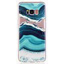 hesapli Ev Dekorasyonu-Pouzdro Uyumluluk Samsung Galaxy S8 Plus S8 Temalı Arka Kapak Manzara Mermer Yumuşak TPU için S8 Plus S8 S7 edge S7 S6 edge S6